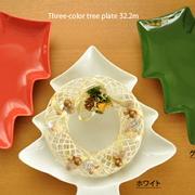 クリスマスの皿