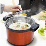 保温鍋で余熱調理