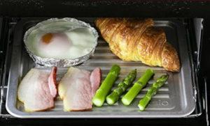 シャープヘルシオ グリエで朝食