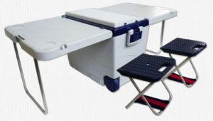 テーブル付きの2wayクーラーボックス